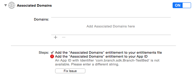 iOS Universal Links - Branch Docs